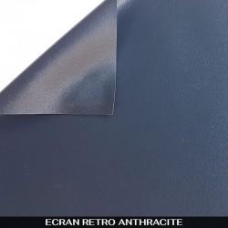 Écran rétro anthracite