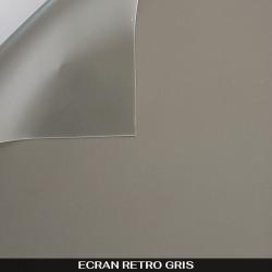 Écran rétro gris